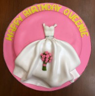 Wedding Gown Cake