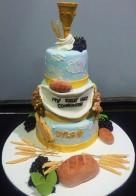 First Communion cake 1