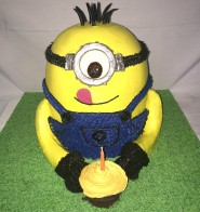 Minion Upright Buttercream Cake