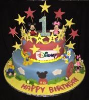 Disney Mickey Mouse Theme Cake