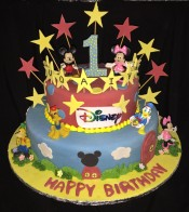 Disney Mickey Mouse Theme Cake