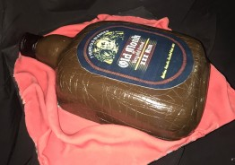 Old Monk cake